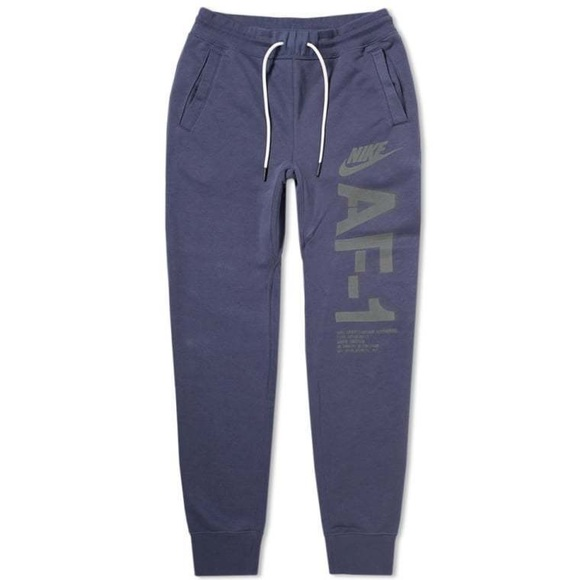 e6c98d861cb0 MENS NIKE AF1 FRENCH TERRY JOGGERS